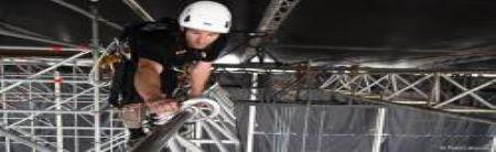Veilig werken op hoogte voor entertainment & rigging
